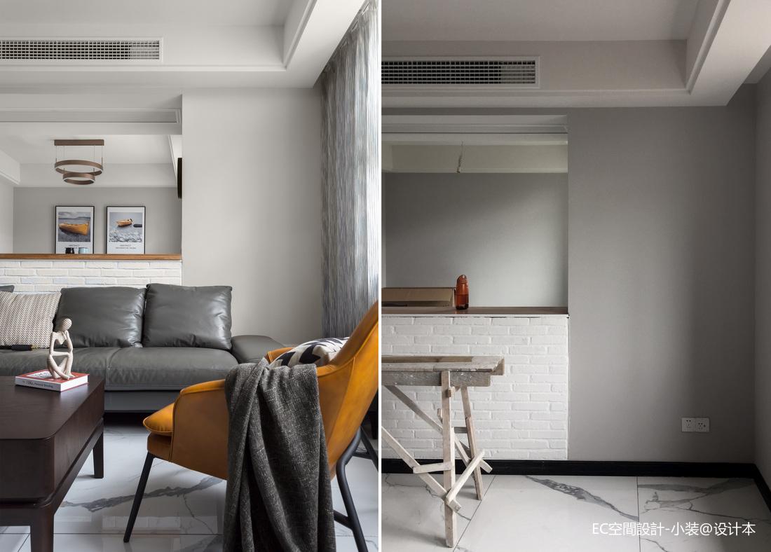 顶楼复式住宅这户型堪比别墅客厅现代简约客厅设计图片赏析
