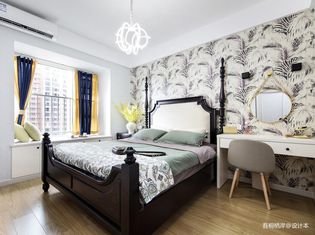 瑞云居北欧风主卧室设计图片卧室北欧极简卧室设计图片赏析