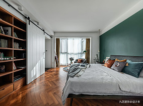 180平米北欧风三居卧室图卧室2图北欧极简设计图片赏析