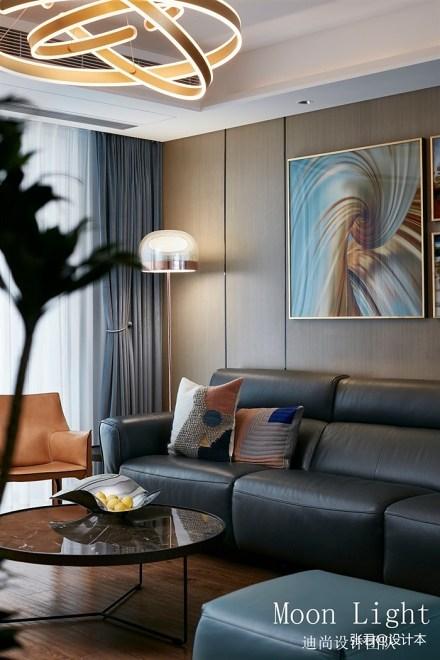 《MoonLight》现代风客厅设计图客厅