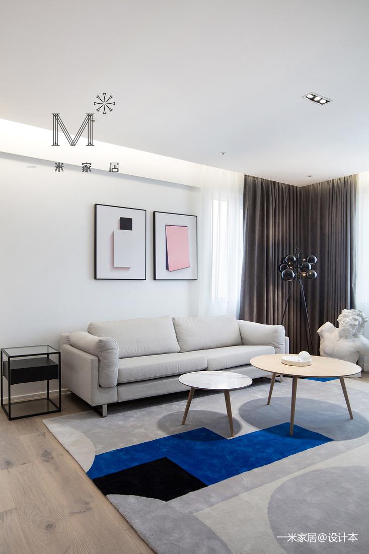 180㎡现代简约客厅装饰画实景图客厅现代简约客厅设计图片赏析