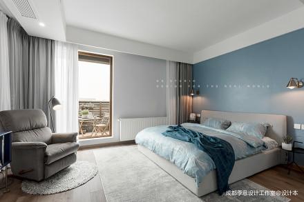 【季意】四居北欧风卧室设计图