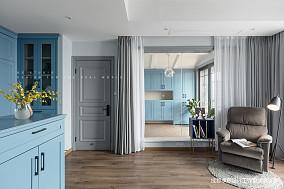 【季意】四居北欧风卧室休闲区设计四居及以上北欧极简家装装修案例效果图