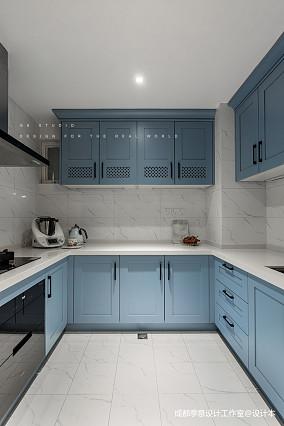 【季意】四居北欧风中式厨房设计图四居及以上北欧极简家装装修案例效果图