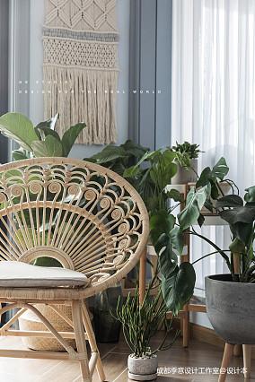 【季意】一间主卧被花园包围的空间四居及以上北欧极简家装装修案例效果图