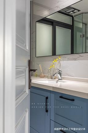 【季意】四居北欧风卫浴设计图四居及以上北欧极简家装装修案例效果图