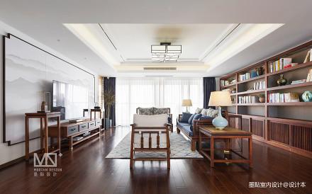 锦绣中式客厅储物柜设计图