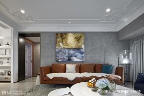 三居混搭风格客厅沙发图片