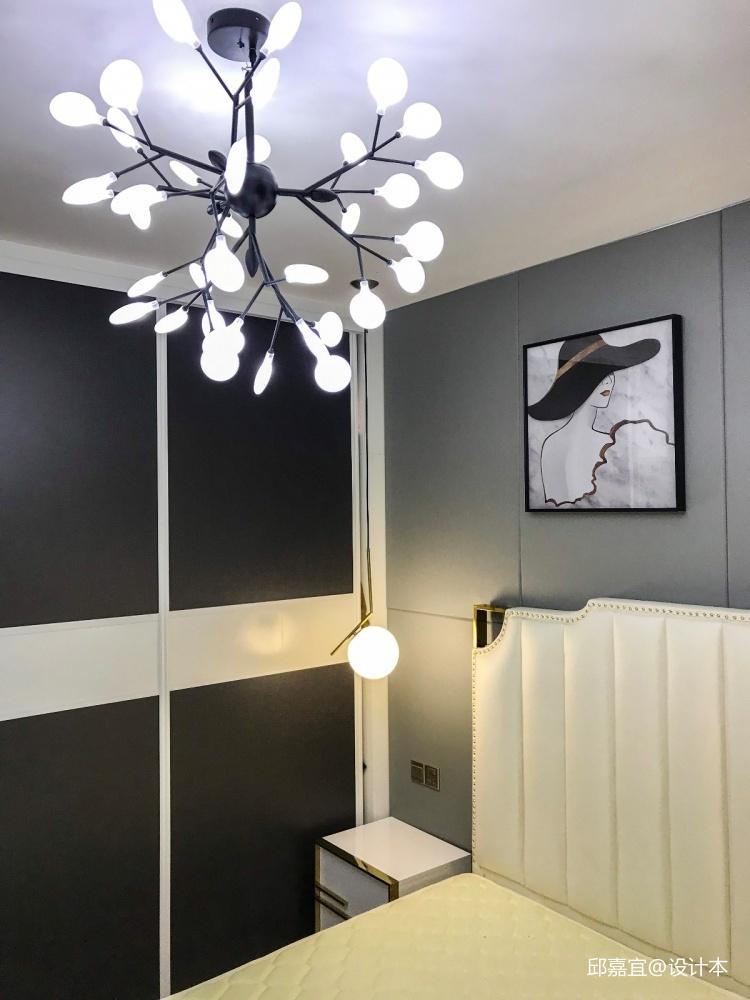 金沙城市广场实景案例卧室现代简约卧室设计图片赏析