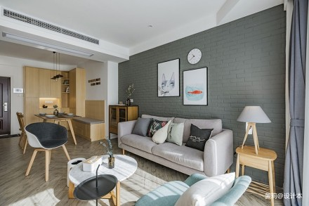 『SWEET HOME』北欧风客厅设计