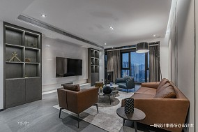 150㎡   现代简约客厅设计