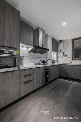 150㎡ | 现代简约厨房设计图片