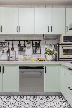 文艺北欧风厨房设计图片