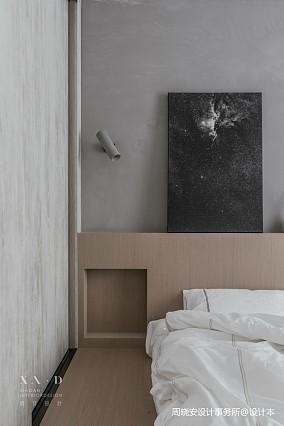 舒适混搭风卧室壁灯设计一居潮流混搭家装装修案例效果图