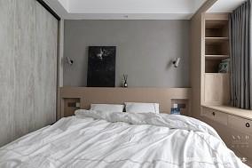 舒适混搭风卧室实景图片一居潮流混搭家装装修案例效果图