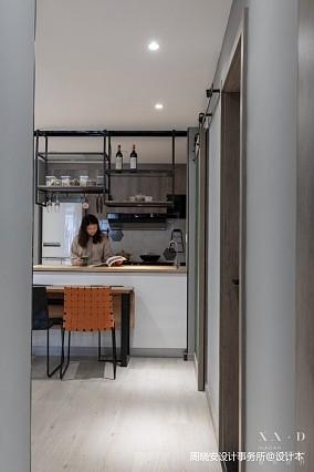 舒适混搭风餐厅设计一居潮流混搭家装装修案例效果图