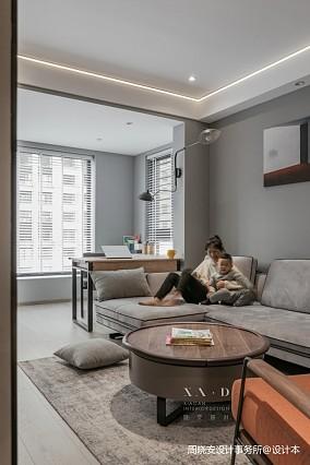 舒适混搭风客厅沙发实景图片一居潮流混搭家装装修案例效果图