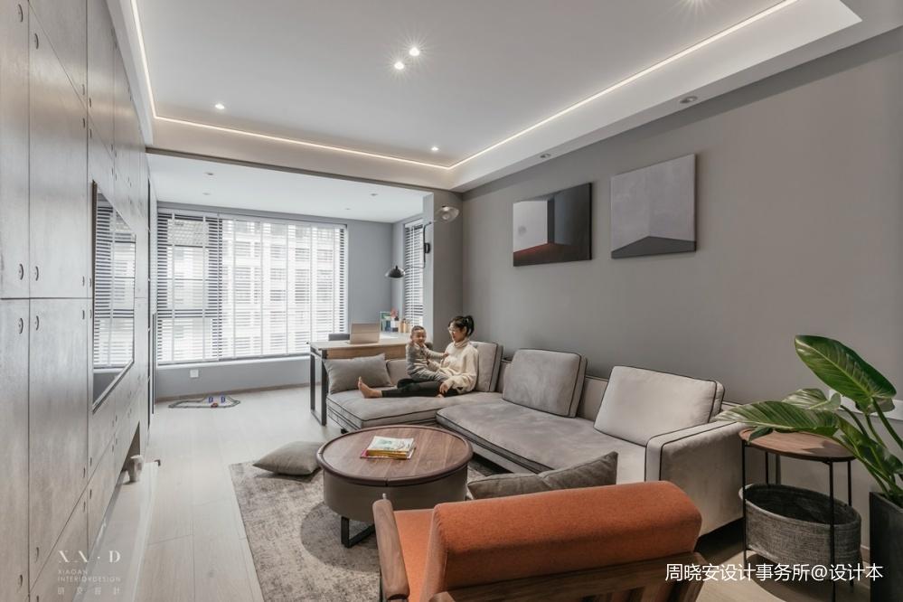 舒适混搭风客厅沙发图片一居潮流混搭家装装修案例效果图