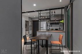 舒适混搭风小餐厅设计图一居潮流混搭家装装修案例效果图