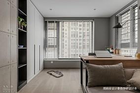 舒适混搭风书房设计一居潮流混搭家装装修案例效果图
