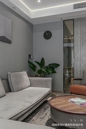 舒适混搭风客厅沙发设计一居潮流混搭家装装修案例效果图