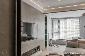 舒适混搭风背景墙设计图一居潮流混搭家装装修案例效果图
