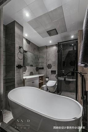 舒适混搭风卫浴设计实景图一居潮流混搭家装装修案例效果图
