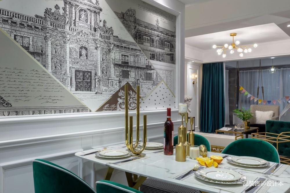 《我和你的慢时光》厨房窗帘潮流混搭餐厅设计图片赏析