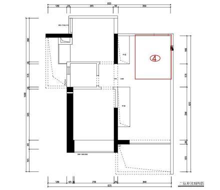 《观白》书房餐厅共享,看小复式的大空间_3577414