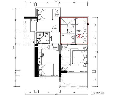 《观白》书房餐厅共享,看小复式的大空间_3577417