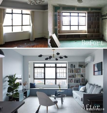 《清风 微蓝》她家的窗台是沙发书架玩具柜_3579010