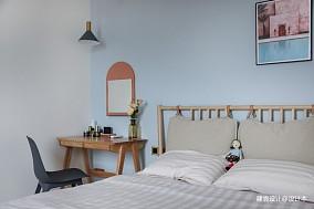 《清风微蓝》她家的窗台是沙发书架玩具柜三居北欧极简家装装修案例效果图