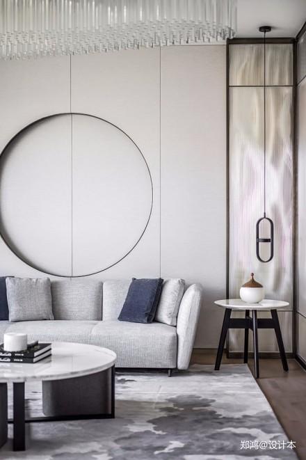 515㎡ 平层现代风客厅沙发图