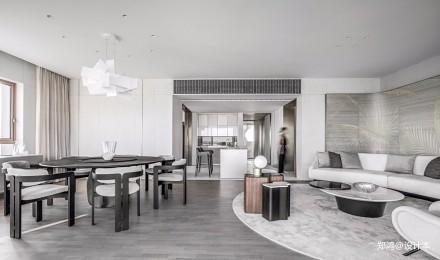 515㎡ 平层现代风餐厅设计图四居及以上现代简约家装装修案例效果图