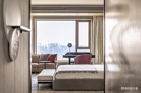515㎡平层现代风卧室设计图四居及以上现代简约家装装修案例效果图