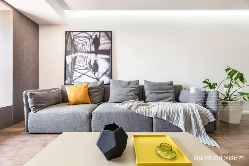 简单自然现代风客厅沙发图客厅沙发现代简约客厅设计图片赏析