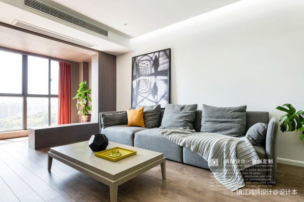 简单自然现代风客厅沙发图片客厅窗帘现代简约客厅设计图片赏析
