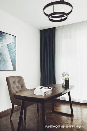 混搭豪宅书桌设计图