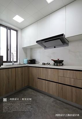 中式现代厨房实景图片