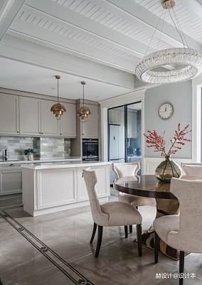 美式别墅厨房实景图片餐厅美式经典设计图片赏析
