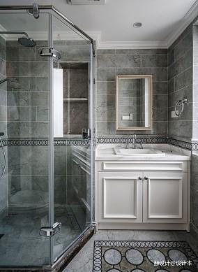 美式别墅卫浴实景图片卫生间设计图片赏析