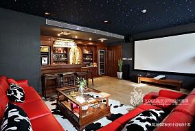 别墅设计,美式风格_3589872