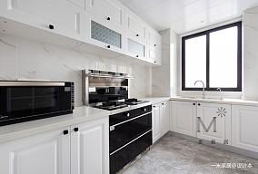 清新简美式厨房设计
