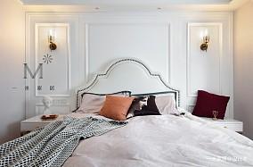 清新简美式卧室壁灯图片