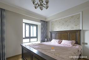静逸三居|平和美式卧室美式经典设计图片赏析