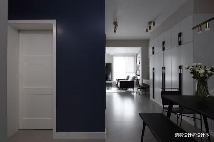 26度_3592985一居现代简约家装装修案例效果图