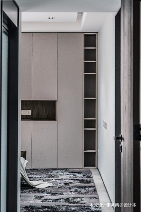 MODERN简约风卧室衣柜设计