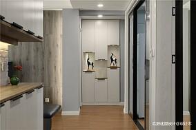 套内80平米改造小三房设计,值得学习!三居现代简约家装装修案例效果图