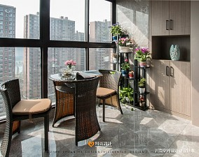温实简约风阳台设计阳台设计图片赏析
