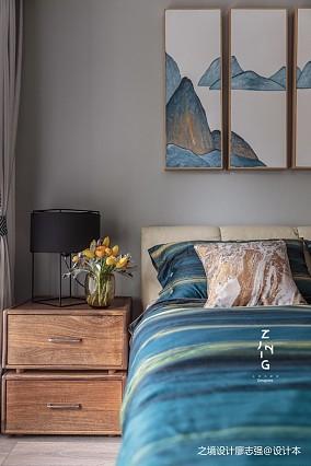 现代复式改造卧室床头柜设计